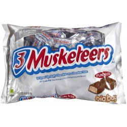 3 Musketeers Funsize 297.1g