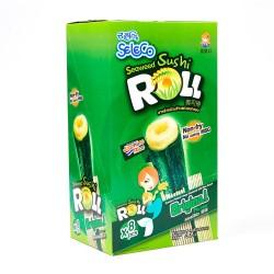 Seleco Seaweed Sushi Roll Original Seaweed Rice Snacks 8 x 12g