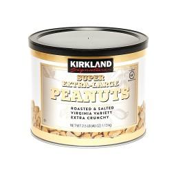 Kirkland Signature Super Extra Large Roasted Peanuts 1.13kg