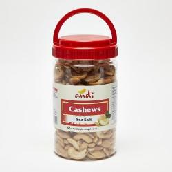 Andi Sea Salt Cashews 450g
