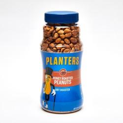 Planters Honey Dry Roasted Peanuts 16 oz.