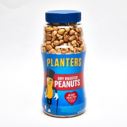 Planters Dry Roasted Peanuts 16oz. Jar