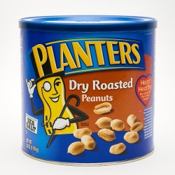 Planters Dry Roasted Peanuts 52 oz.