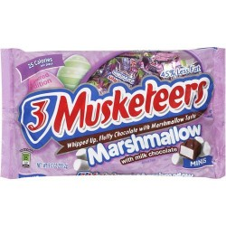3 Musketeers Funsize Marshmallows 255.2g
