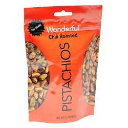 Wonderful Chili Roasted Pistachios 155g