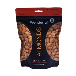 Wonderful Roasted Salted Almonds 318g