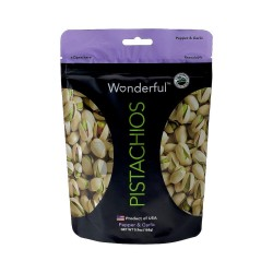 Wonderful Pepper & Garlic Pistachios 168g