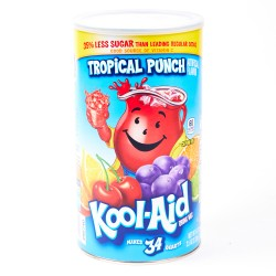 Kool Aid Tropical Punch Powder Drink Mix 2.5 oz
