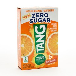 Tang Orange Zero Sugar Singles To Go 6 Sachet Drink Mix 22 g