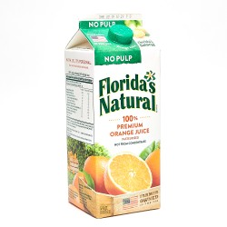 Floridas Natural Premium Orange Juice Most Pulp 1.5 L