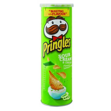 Pringles Cheddar Sour Cream & Onion