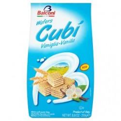 Balconi Wafers Cubi Vanilla