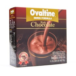 Ovaltine Swiss Rich Chocolate Drink 10 X 29.6 g