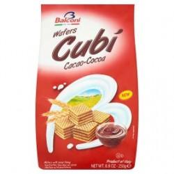 Balconi Wafers Cubi Cocoa 250g