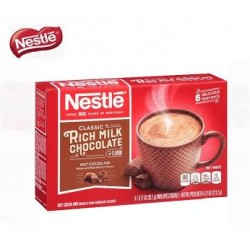 Nestle Rich Chocolate Flavor Hot Cocoa Mix with Mini Marshmallows 6 x 20.2g
