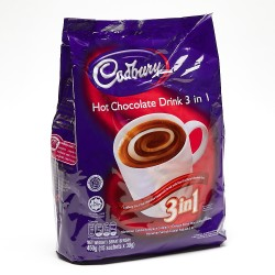 Cadbury 3-in-1 Hot Chocolate Drink 15 x 30g