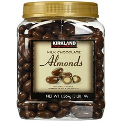 Kirkland Milk Chocolate Almonds 1.3kgs