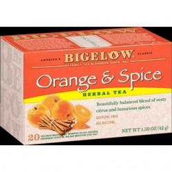 Bigelow Orange and Spice Herbal Tea 28 Tea Bags