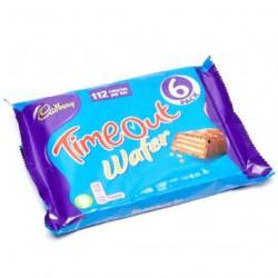 Cadbury Timeout Wafer 6 x 21.2g