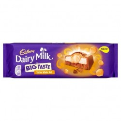 Cadbury Dairy Milk Big Taste Toffee Whole Nut Chocolate 300g