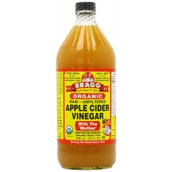 Bragg Organic Apple Cider Vinegar Raw Unfiltered, 32.0 FL OZ