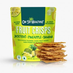 Oh So Healthy! Fruit Crisps Jackfruit Pineapple Banana 40 g