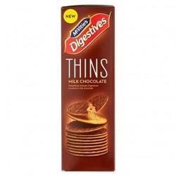 McVitie's Milk Chocolate Digestive Thins 180g