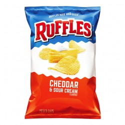 Ruffles Cheddar & Sour Cream Potato Chips 184.2g