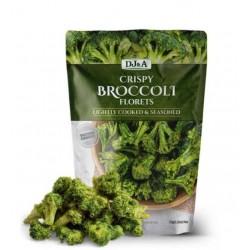 DJ&A Crispy Broccoli Florets Chips 33g