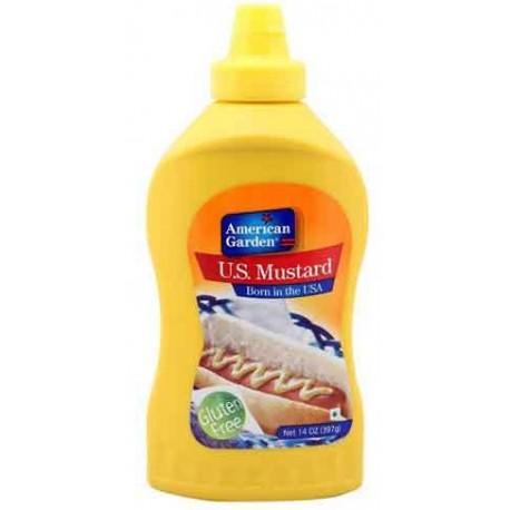 American Garden Mustard w FREE catsup