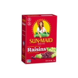 Sun Maid Natural California Raisins 6 x 6g Mini Boxes