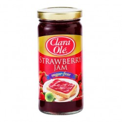 Clara Ole Jam Strawberry Sugar Free 240g