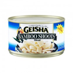 Geisha Bamboo Shoots Sliced 8oz 227g