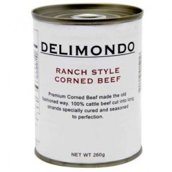 Delimondo Corned Beef Original Ranch Style 260g