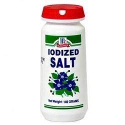 McCormick Iodized Salt Shaker 140g