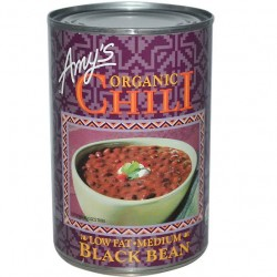 Amy's Organic Soups Chili Low Fat Medium Black Beans 14.7oz 416g