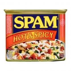 Spam Luncheon Meat Hot and Spicy 12oz 340g