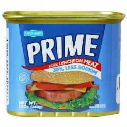 Prime Pork Luncheon Meat 30% Less Sodium 340g 12oz