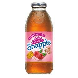 Snapple All Natural Juice Raspberry Tea 20oz