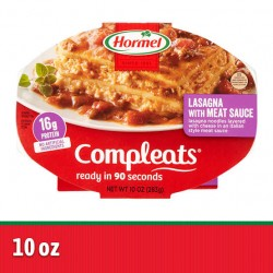 Hormel Compleats Homestyle Lasagna w/ Meat Sauce 10oz 283g