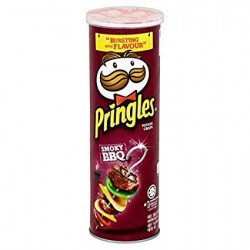 Pringles Snack Smoky BBQ 150gms