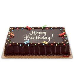 Rainbow Dedication Cake 8x12 (Regular)