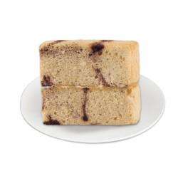 Red Ribbon Mocha Marble Cake Slice