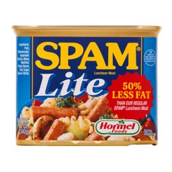 Spam Lite 50% Less Fat