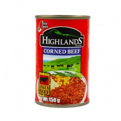 Highlands Corned Beef Easy Open can 150g