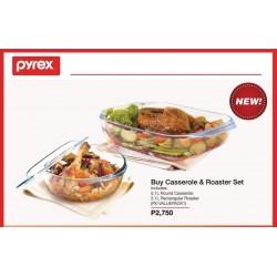 Pyrex Casserole and Roaster Set