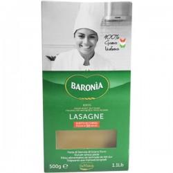 Baronia Lasagne Semola 500g 