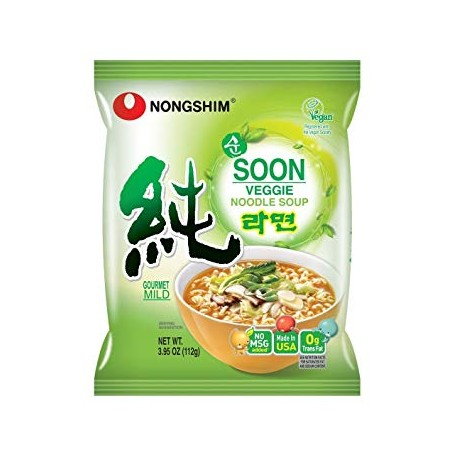 Nong shim soon veggie multi pouch 5 pack ​