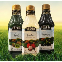 Freshill blackcurrant concentrate 1L 