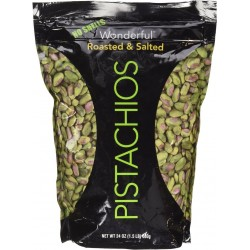 Wonderful Roasted Salted Pistachios 686g